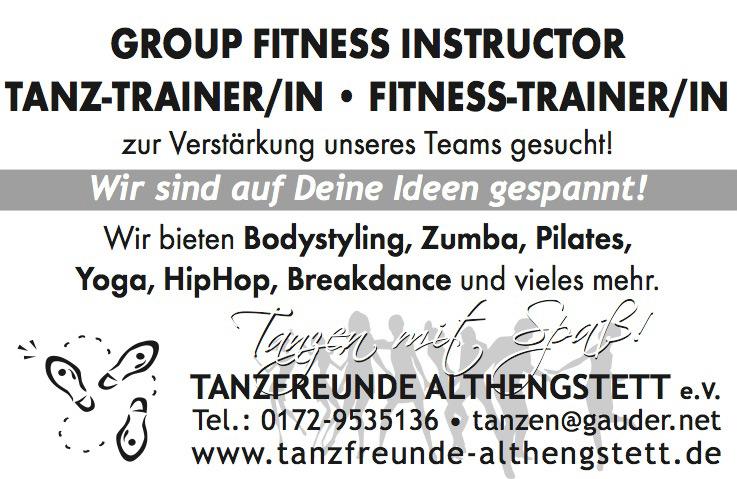 Trainer-Anzeige